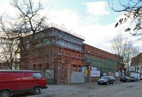 zdjęcie z przebudowy Centrum Sztuki Piekarnia