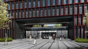 wizualizacje Nowa siedziba Prokuratura Katowice