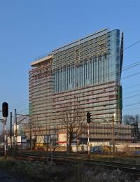 zdjęcie z budowy Carbon Tower