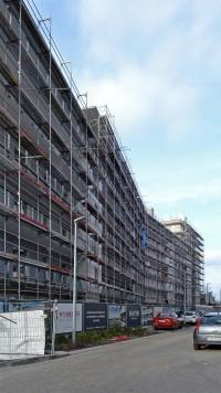 zdjęcie z budowy Wybrzeże Reymonta II