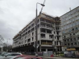 zdjęcie z budowy Sava Mińska 25
