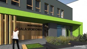 zdjęcie z budowy Hala sportowa