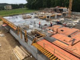 zdjęcie z budowy Piasta Park