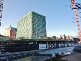 zdjęcie z budowy Tertium Business Park