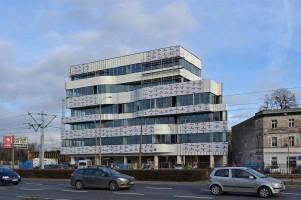 zdjęcie z budowy Biurowiec Żmigrodzka 83