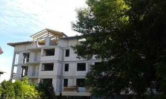 zdjęcie z budowy Osiedle Piecyka