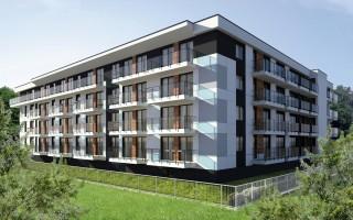 zdjęcie z budowy Apartamenty Cedry 2A