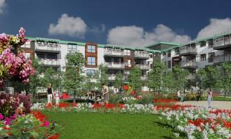 zdjęcie z budowy Aura Garden