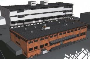 zdjęcie z przebudowy Klaster Innowacji Społeczno-Gospodarczych Zabłocie 20.22