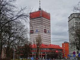 zdjęcie z przebudowy Collegium Altum