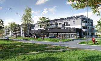 zdjęcie z budowy Sosnowy Las