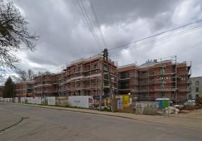 zdjęcie z budowy Osiedle Miasto Ogród Karłowice