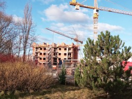 zdjęcie z budowy Murapol Malta