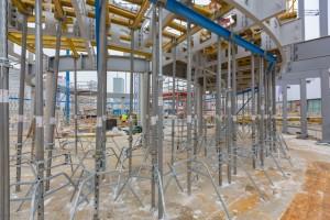 zdjęcie z przebudowy Nowa Rotunda