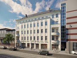 zdjęcie z przebudowy Dworcowa 67