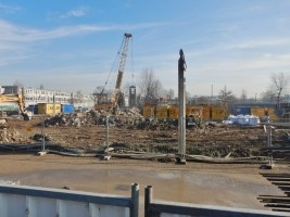 zdjęcie z budowy Biurowiec Kreo