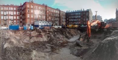 zdjęcie z budowy Stalowa 39