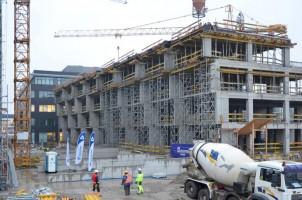 zdjęcie z budowy P4