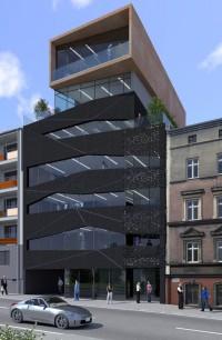 zdjęcie z budowy Biurowiec Mikołowska 35