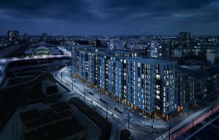 wizualizacje Apartamenty NCŁ Węglowa