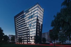 wizualizacje Budynek biurowy nr2