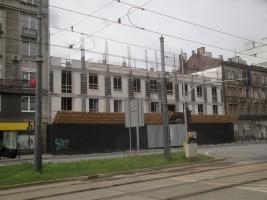 zdjęcie z budowy Nowa Targowa