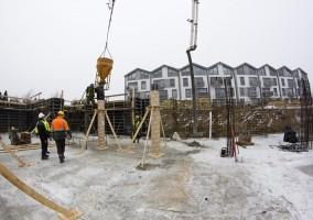 zdjęcie z budowy Apartamenty Warszewo