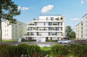zdjęcie z budowy Apartamenty Saska Kępa