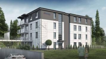 zdjęcie z budowy Apartamenty Stylowa