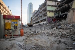 rozbiórka budynku biurowego