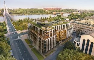 zdjęcie z budowy Flisac Apartamenty Powiśle