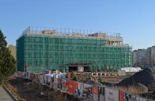 zdjęcie z budowy West 4 Business Hub