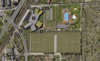 zdjęcie z budowy Akademia Sportu