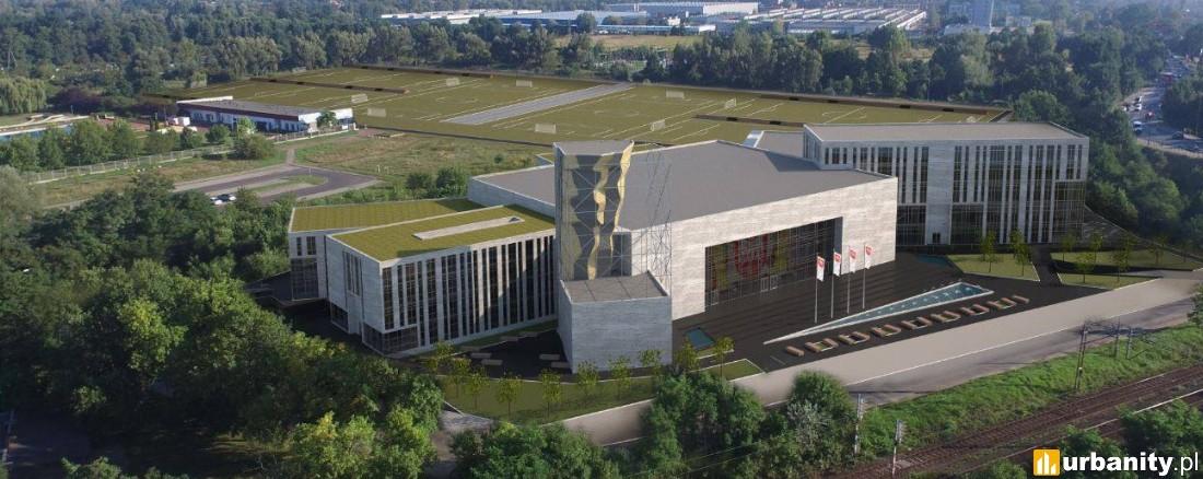 Wizualizacje Centrum Sportowo-Rekreacyjne Ślęza Wrocław , Akademia Sportu