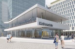 wizualizacje Restauracja McDonald's
