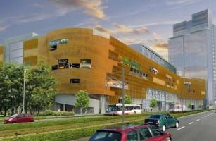 wizualizacje Centrum Handlowe Stocznia