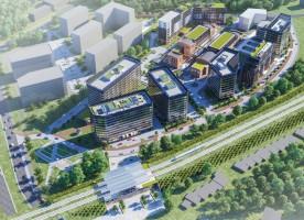zdjęcie z budowy Fabryczna City