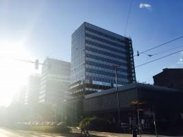 zdjęcie z przebudowy Wieżowce Centrum