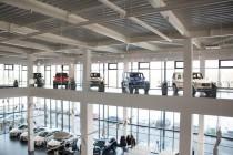 Wnętrze Salon samochodowy marki Mercedes-Benz