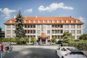zdjęcie z przebudowy Siedziba Wydziału Matematyki Politechniki Wrocławskiej