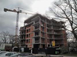 zdjęcie z budowy Słowiańska 25