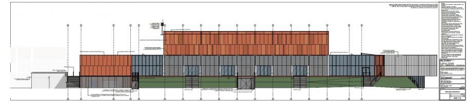 zdjęcie z budowy Hala widowiskowo-sportowa