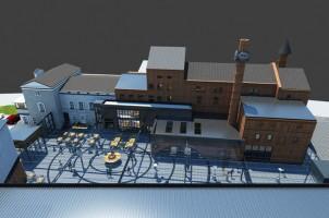 wizualizacje Centrum Browar City