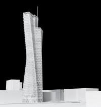 wizualizacje Świętokrzyska Tower