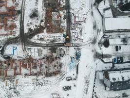 zdjęcie z budowy Osiedle Zielona Dolina