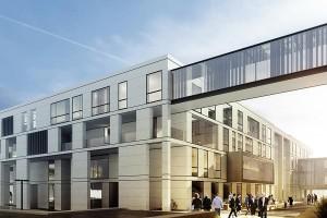 zdjęcie z budowy Centrum Ekoinnowacji Politechniki Gdańskiej
