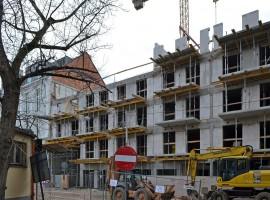 zdjęcie z budowy Przy Arsenale