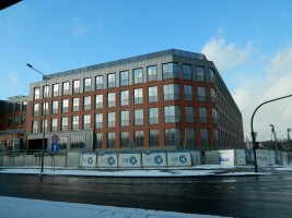 zdjęcie z budowy Orange Office Park