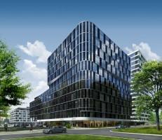 wizualizacje Gdański Business Court