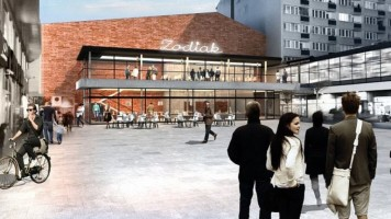 zdjęcie z przebudowy Warszawski Pawilon Architektury Zodiak